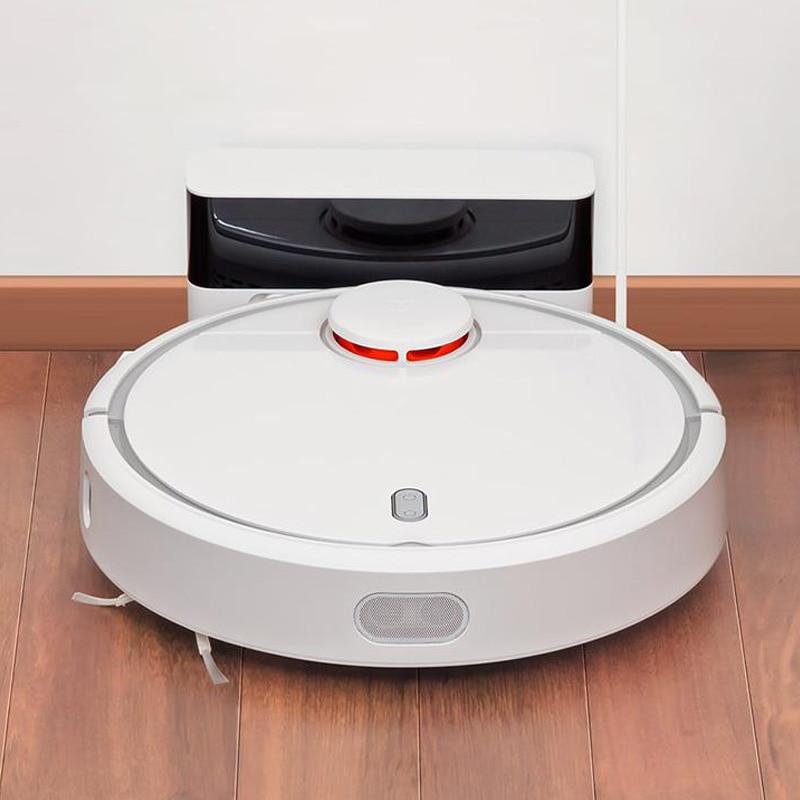 Оригинальный Xiaomi Mi робот пылесос для домашнего Автоматической для уборки пыли стерилизовать Smart планируется мобильное приложение Remote Упра...