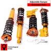 Adjustable Height Coilover Strut Full Kit For NISSAN S13 240SX 200SX 180SX CA18DET SR20DET Dampening 24