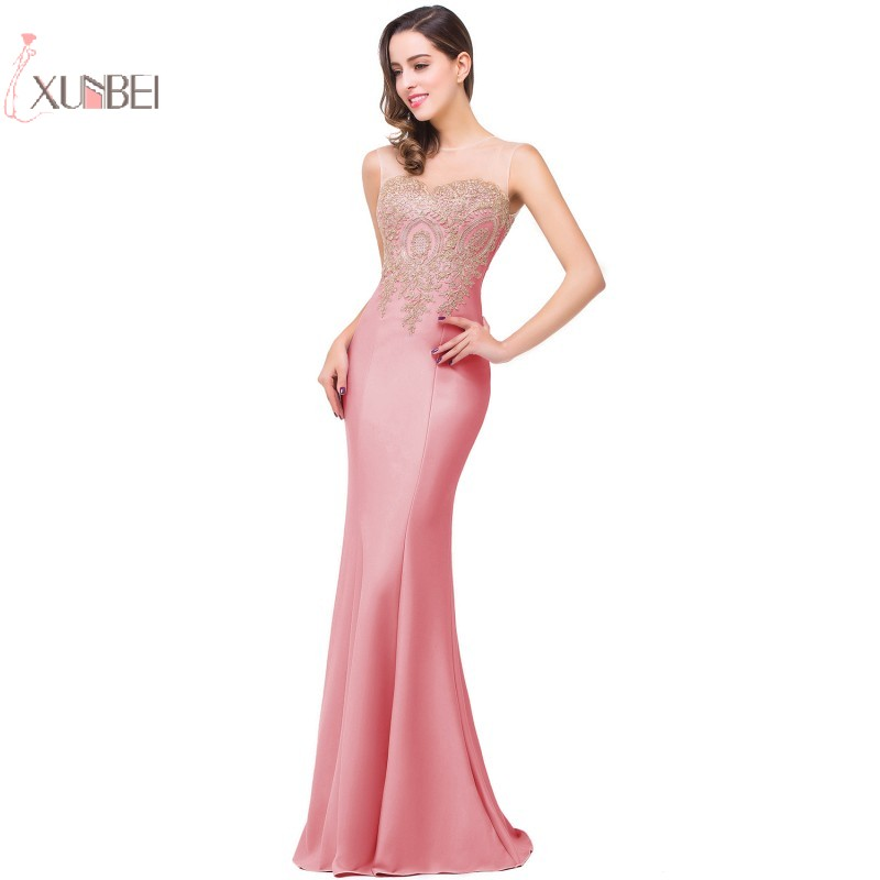 Robe de Soiree Plus Size Evening Dresses Long 2019 Formal Reflective Dress  Mermaid Evening Gowns For eb7a81120336