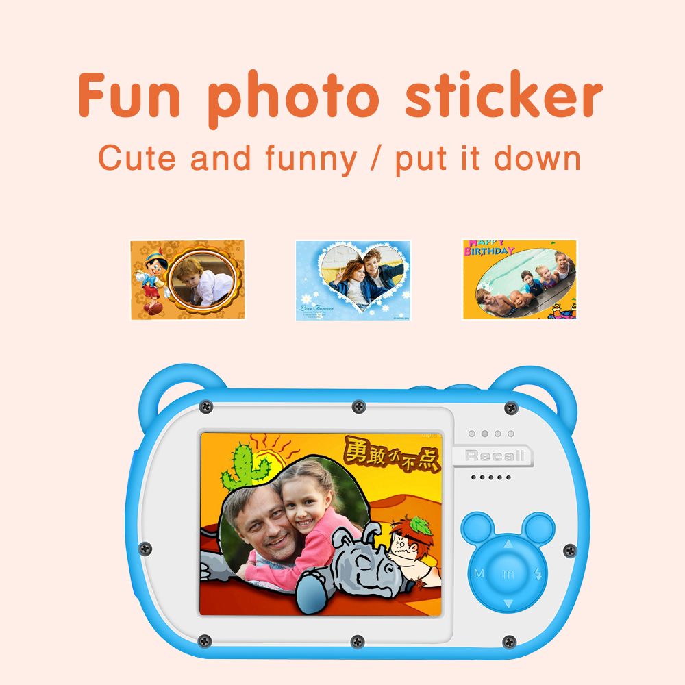 Appareil photo numérique enfant K6 Mini caméras pour enfants appareil photo sous-marin Portable étanche professionnel - 6