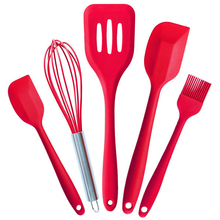 Kreative Küche Silikon Küchenwerkzeuge Silikon Küchenutensilien 5 Teile/satz Hygiene Feste Beschichtung