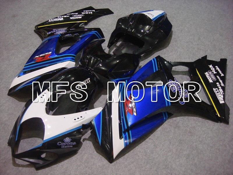 Для Suzuki GSXR 1000 К7 2007 2008 АБС впрыска Обтекателя комплекты GSXR1000 К7 07 08 - Корона - черный/синий