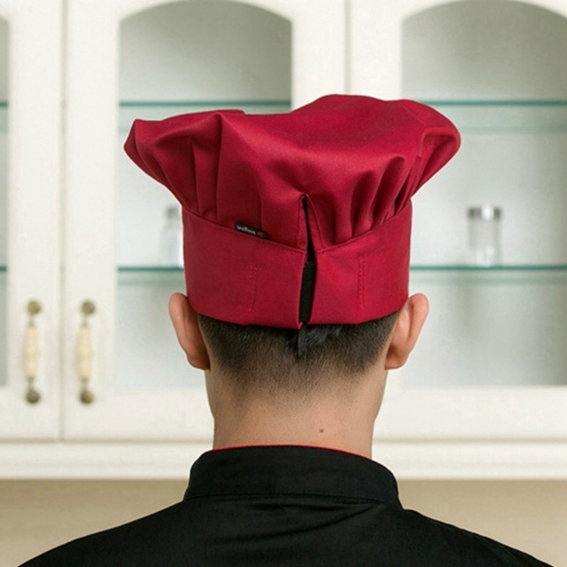 Adjustable Chef Cooking Hats