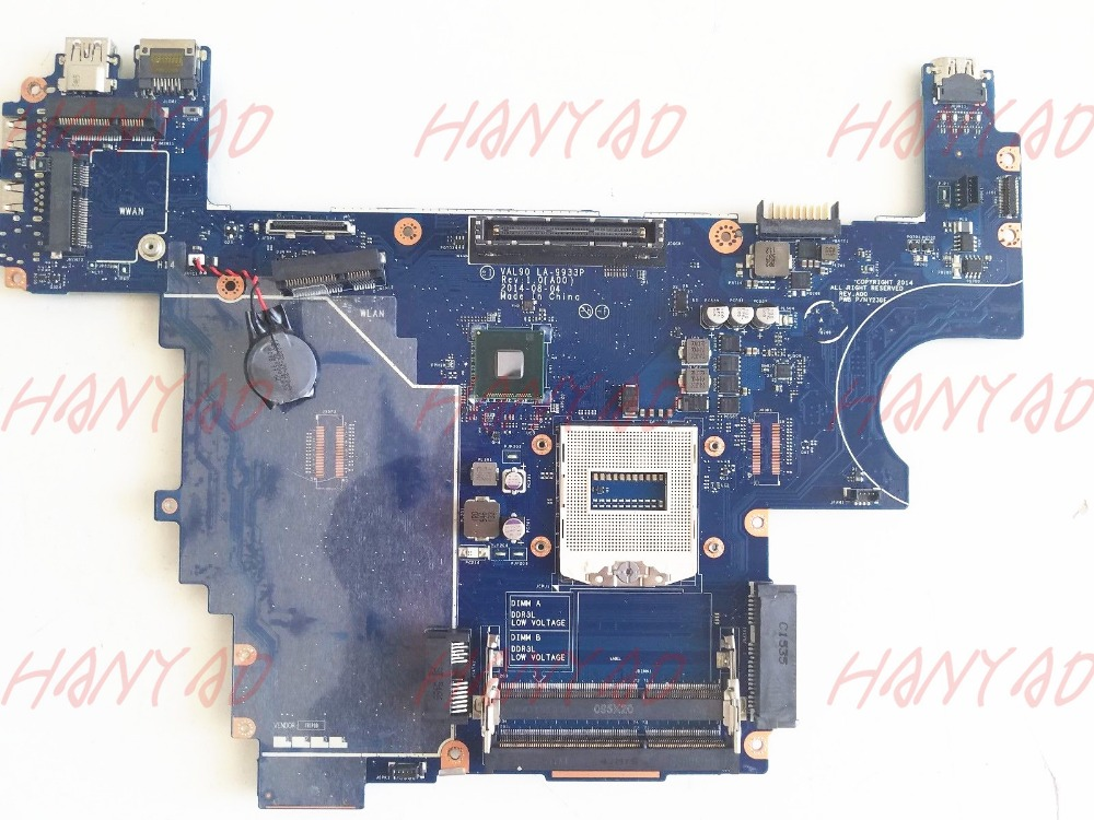 for dell e6440 laptop motherboard la-9933p ddr3 Free Shipping 100% test ok