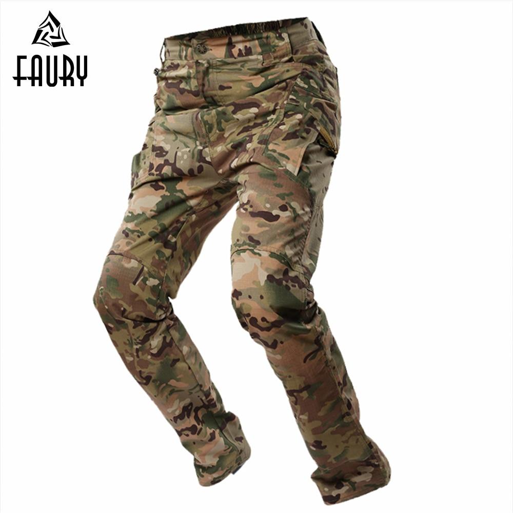 Tactique Camouflage Militaire Pantalon Hommes Soldat de Combat Militar Travail Armée Outfit MC Multi Terrain Camo Archon Salopette
