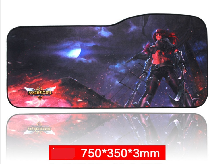 Large mouse pad 750X350/730X330 speed Keyboard Mat mousepad Gaming mouse pad Desk Mat for game player Desktop PC Computer laptop