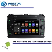 YESSUN For Toyota Land Cruiser Prado 2002~2009 CD DVD GPS Player Navi Radio Stereo HD Car Multimedia Navigation Wince / Android