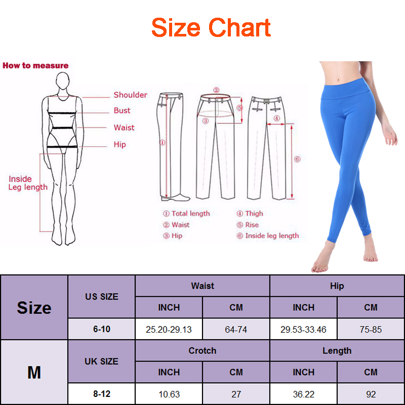 Sexy High Waist yoga leggings For Women yoga workout gym fitness leggings pants jumpsuit Stretched Running Tight Sports trousers 1