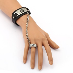 MS Jewelry NARUTO Leather Brac