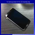 Para Samsung Nota2 N7100 Ensamblaje de la Pantalla LCD Con la Pantalla Táctil Del Digitizador de Gris Titanio