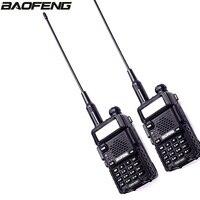 2pcs BAPFENG DM 5R DMR Tier I &I I Walkie Talkie Digital & Analog VHF/UHF Ham Transceiver & 21cm Gain Antenna Outdoor Interphone