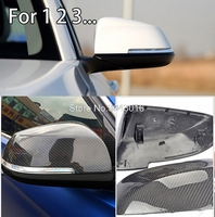 For BMW Carbon Mirror F30 F20 F32 F33 F36 X1 E84 2012 2016 F30 F32 F33 F20 Carbon Mirror Replacement Style caps high quality