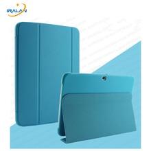 2017 nueva Plegable Soporte Elegante de LA PU funda de Cuero para el Libro Samsung Galaxy Tab 3 10.1 P5200 P5210 P5220 + película de pantalla + stylus + otg