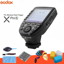 Gachette Flash sans fil Godox xpro xpro s XPros TTL 1/8000 S 11 fonctions personnalisables pour Godox TT685S V860II S TT600S