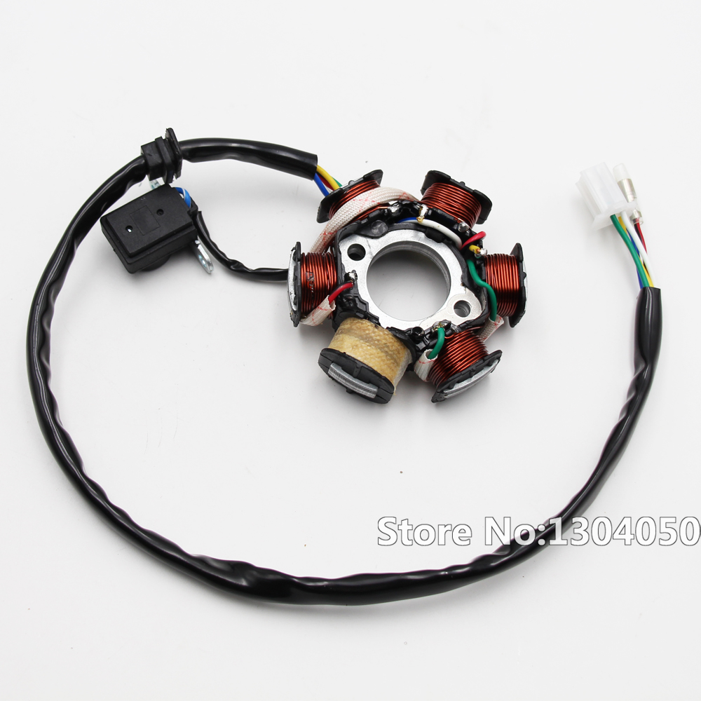Wiring Harness Gy6 150cc 125cc Electrics Atv Buggy Scooter Wire Loom Go Kart Stator Magneto Coil Soleniod New In Motorbike Ingition From Automobiles Motorcycles