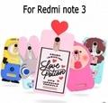 3D ZOOTOPIA Кролик Баловень Любовный напиток Холод Таблетки мальчик слеза розовый мягкие силиконовые case обложка для Xiaomi Redmi Note 3 Hongmi Примечание 3