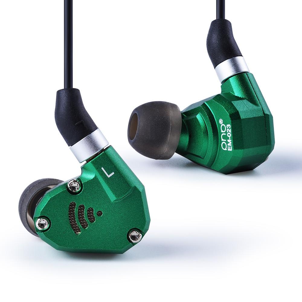 Wooeasy PHB EM-023 2DD + 2BA Hybride Dans L'oreille Écouteurs Intra-auriculaires HIFI Basse DJ Monito de Course Sport Écouteurs Boules Quies Casque avec Mic