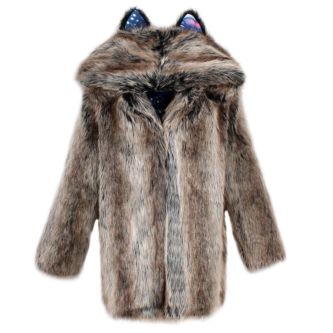 D'hiver Mode Renard Manteau De 2 Manteaux Femmes Moyen Luxe Faux Artificielle Fourrure 1 Mujer Pardessus Conception Dames Long Femme E1xwqpf5x