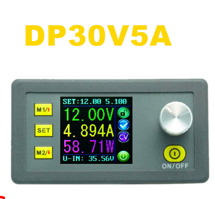DP30V5A Voltage tester Power Supply module buckconverter voltmeter Ammeter Step-down Constant Volt Current LCD Display 20% off power supply tester for voltage pg testing