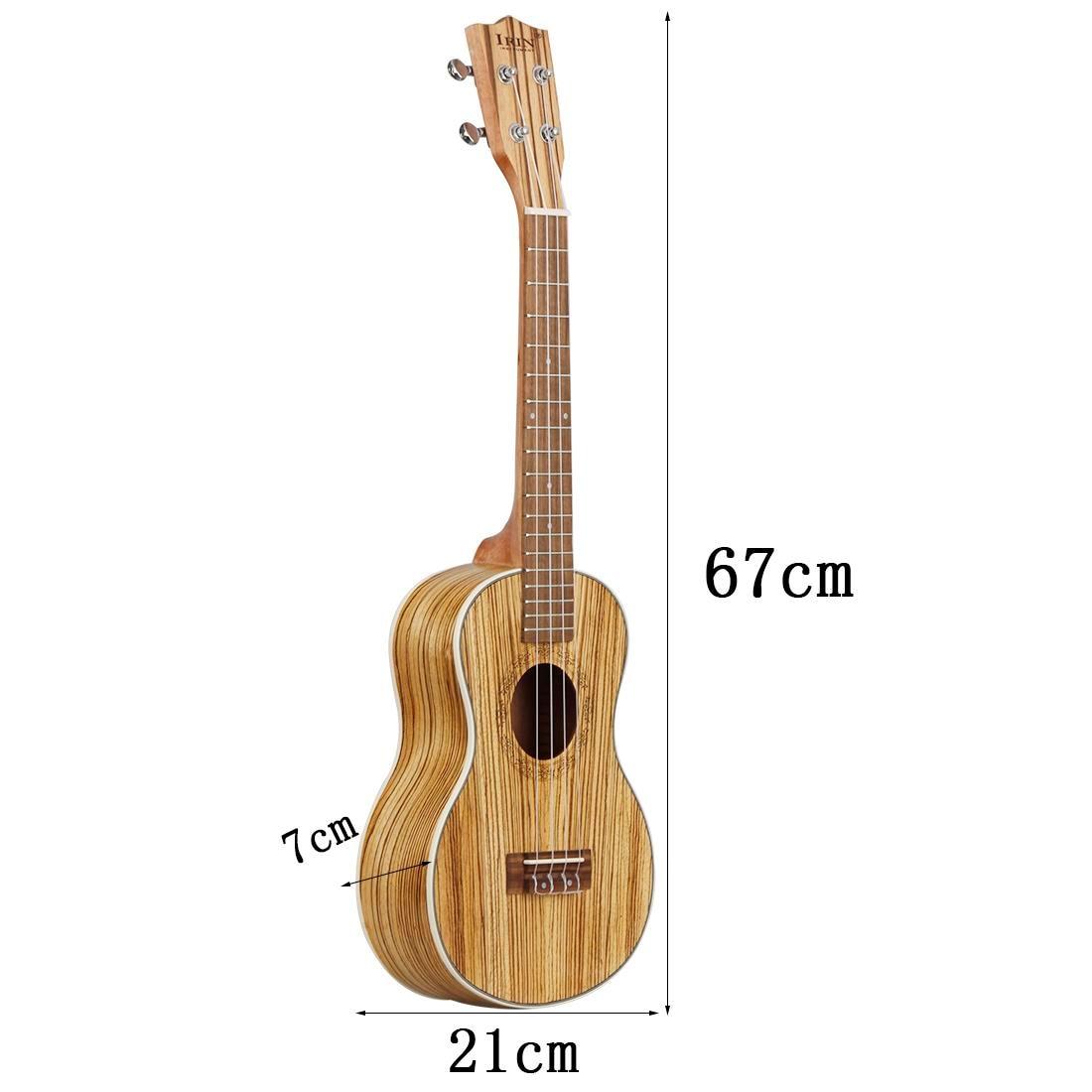 Nouveau IRIN Concert ukulélé 26 pouces 4 cordes hawaïenne Mini guitare acoustique Ukelele guitare envoyer des cadeaux musicaux à cordes Ins - 4