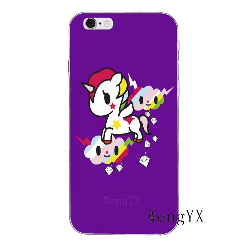Япония tokidoki unicorno Лошадь мягкий силиконовый чехол для телефона для sony xperia XA Z Z1 Z2 Z3 Z4 Z5 компактный премиум мини M2 M4 M5 E3 T3