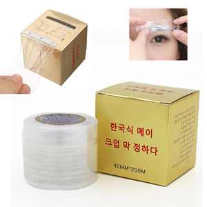 Image 5 - New 1 box Microblading Clear Plastic Wrap Preservative Film for Permanent Makeup Tattoo Eyebrow Tattoo Accessories