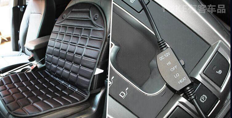 Hiver 12 V voiture coussin chauffant voiture sièges chauffants - Accessoires intérieurs de voiture - Photo 6