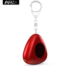 Chinese Red style 130 dB Premium Quality Portable keychain alarm with LED Light For Kids Women elderly Self Defense