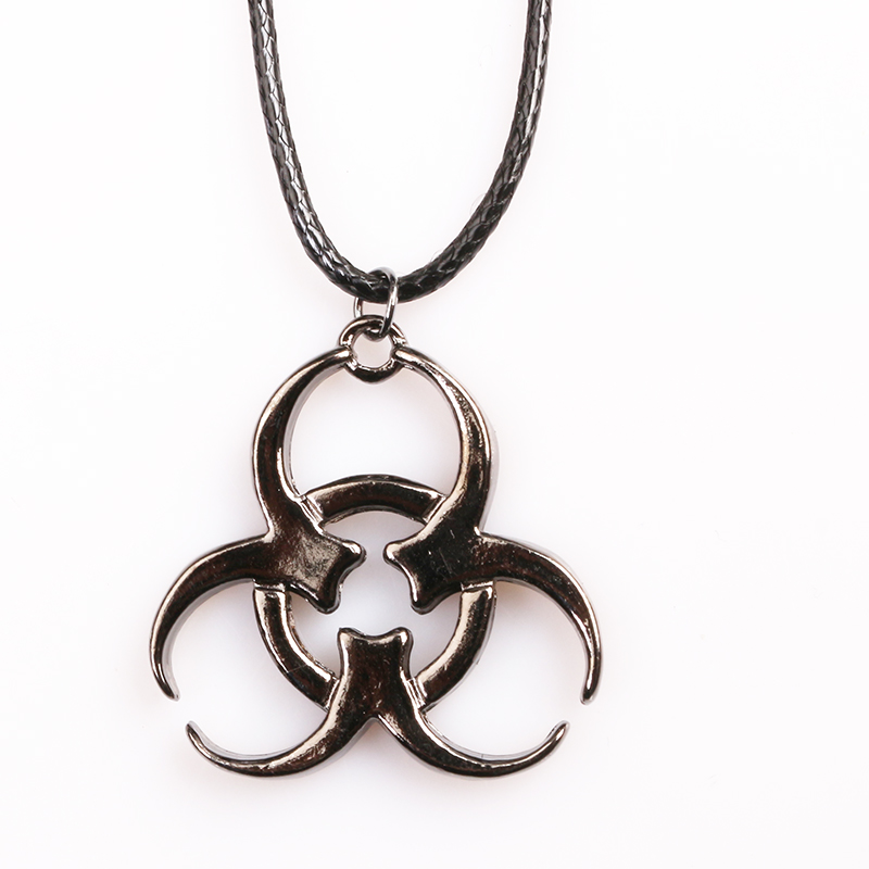 Movie Resident Evil Pendant Necklece Geometric Shape Women Men Jewelry ...