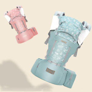 Image 5 - Honeylulu ארגונומי מנשא עם תיק קלע תינוקות ארבע עונות תינוק קנגורו Windproof כובע Ergoryukzak Hipseat