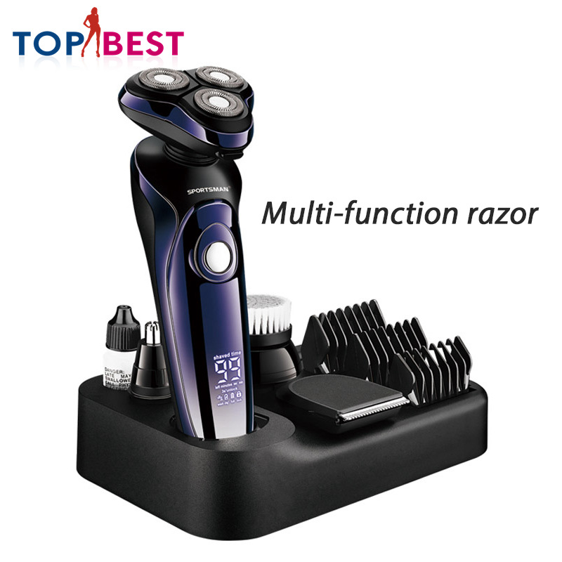 4 in 1 Multifunctional Hair Clipper Cordless Electric Trimmer Machine Cut Body Rechargeable Cleaning Shaver