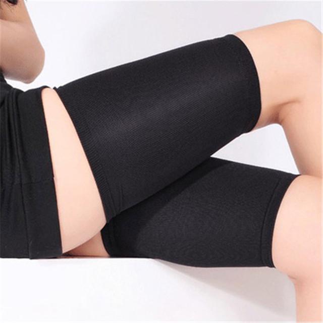 Dormir de alta Qualidade Meias De Compressão Queimar Gordura Fina Meias Coxa Slimming Leg Beauty Magro Legging da Senhora