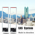 aluminium alloy EAS security doorX2, sexy design anti theft entrance control system for supermarket