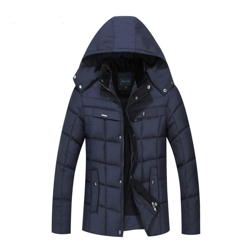Winter Jacket For Men Middle aged And Old Men s Fashion Man Warm Winter Jacket Plus