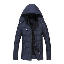 Зимняя Куртка Для Мужчин Среднего Возраста И Стариков Человек Мода Теплый Зимняя Куртка Плюс Размер Мужские Куртки И Пальто зима