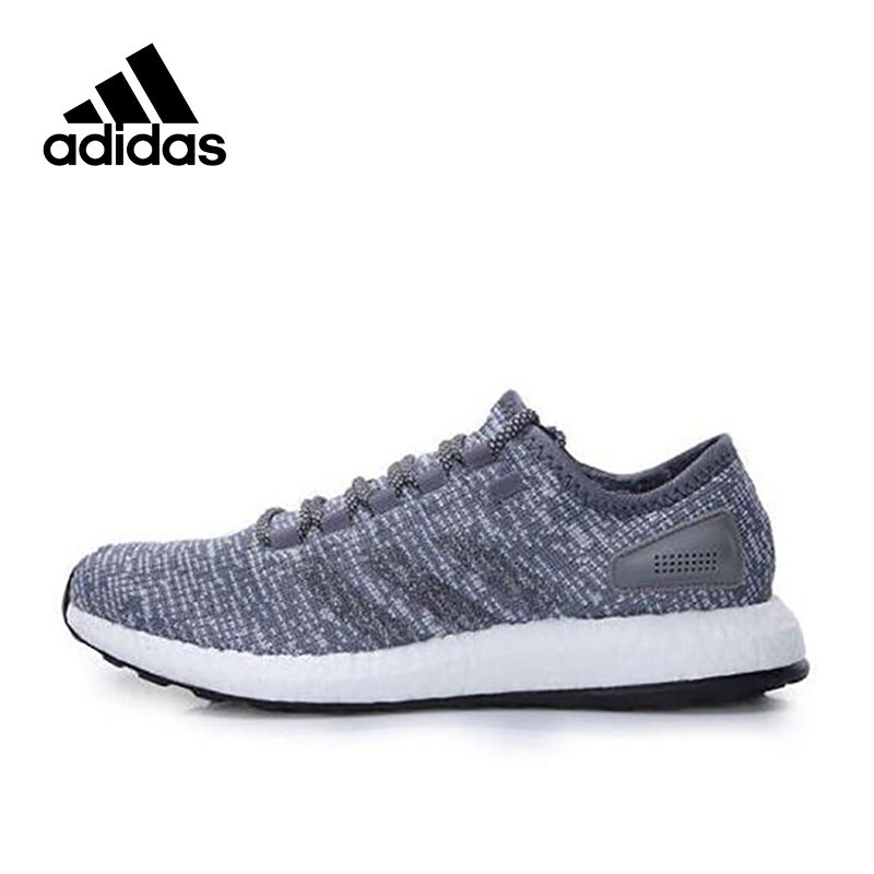 New Arrival Authentic Adidas PureBOOST Mens Breathable Running Shoes Sports Sneakers
