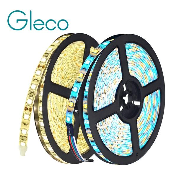 DC12V 5 M LED Streifen 5050 RGB, RGBW, RGBWW 60 LEDs/m Flexible Licht 5050 LED Streifen RGB Weiß, Warmes weiß, Rot, Blau, grün