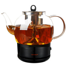Boil tea ware Black fully automatic steam glass electric kettle makes black