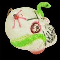 Halloween Decorative Props Witch Pumpkin Ghost Head Grass Cloak Hanging Doll Mask 30 2017 Hot Sale
