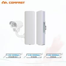 Hot Comfast Cf 2 3Km 2.4Ghz E 5.8Ghz 150 ~ 300Mbps Outdoor Wireless Bridge Cpe Router wi Fi Amplificatore Del Segnale Del Ripetitore Extender Ripetitore