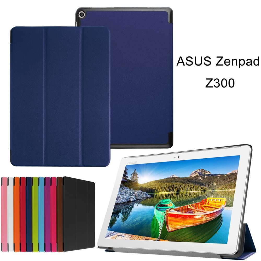 XSKEMP PU Leather Tablet Case For ASUS ZenPad 10 Z300C Z300CL Vintage Cover Ultra Slim Kickstand Protective Shell With Free Gift