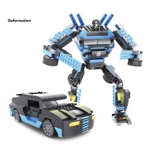 291pcs/lot Educational Toy Movie Robot Building Blocks 2 In 1 Autobot Model Assemble Bricks Toys