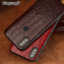 Crocodile pattern all-inclusive mobile phone case For xiaomi mix 2s Leather mobile phone mobile phone protection soft case crocodile pattern anti radiation signal shielding protective pu bag case for mobile phone brown