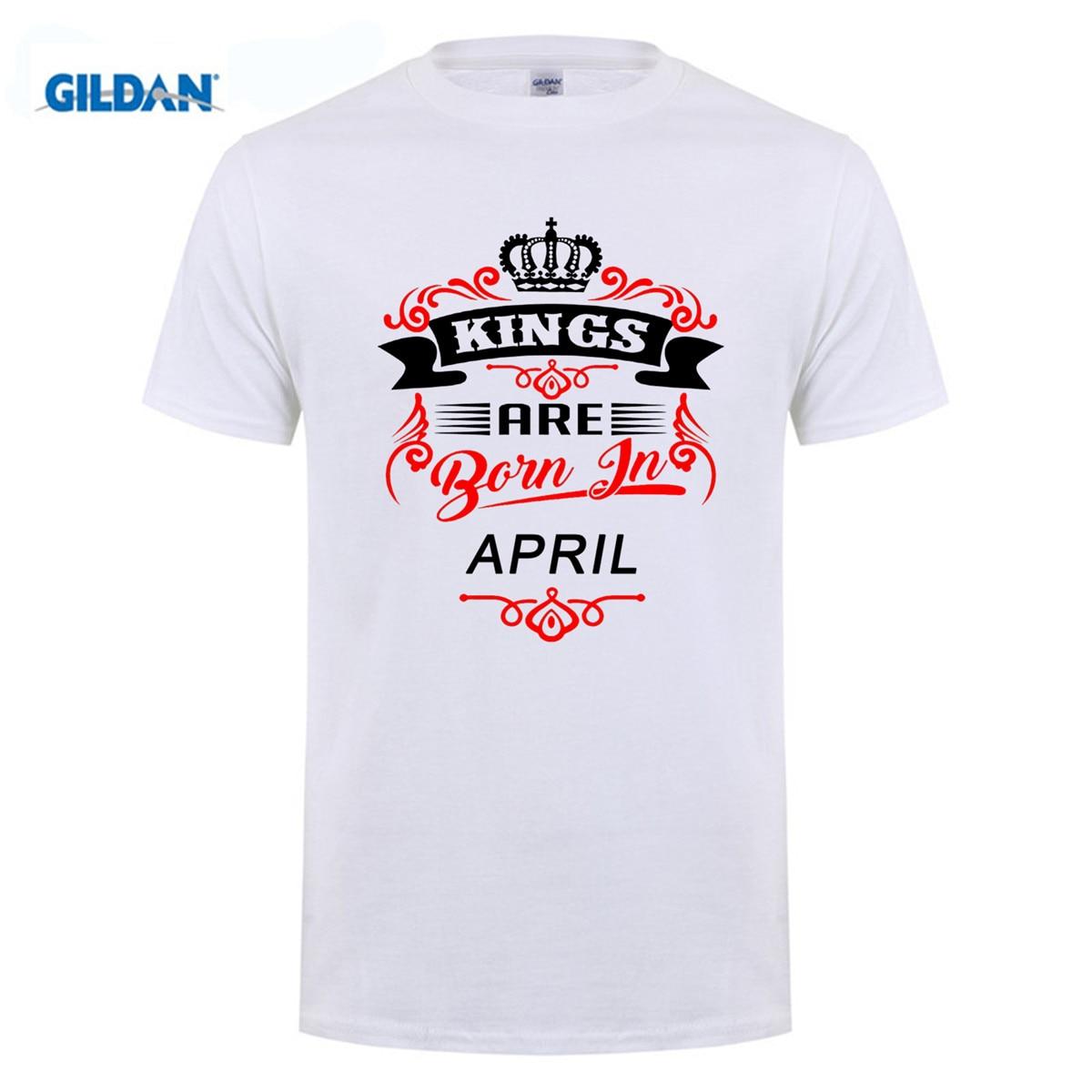 GILDAN Birthday T-shirt T Shirt Shop Online Crew Neck Men Short Sleeve Best Friend Kings Are Born In November Shirts