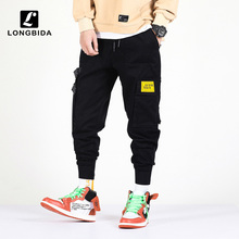 New Fashion Men Casual Cargo Pants Trousers Streetwear Mens Joggers High Street Harem Pant