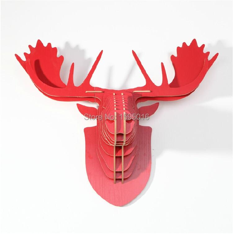 Reindeer Head Wall Decoration