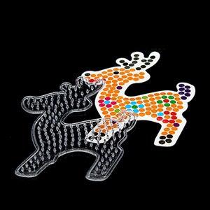 Image 5 - 10 шт. шаблоны для бусин 5 мм perler, термомозаичные узоры для бусин hama, шаблон для бусин perler из бумаги с цветной бумагой