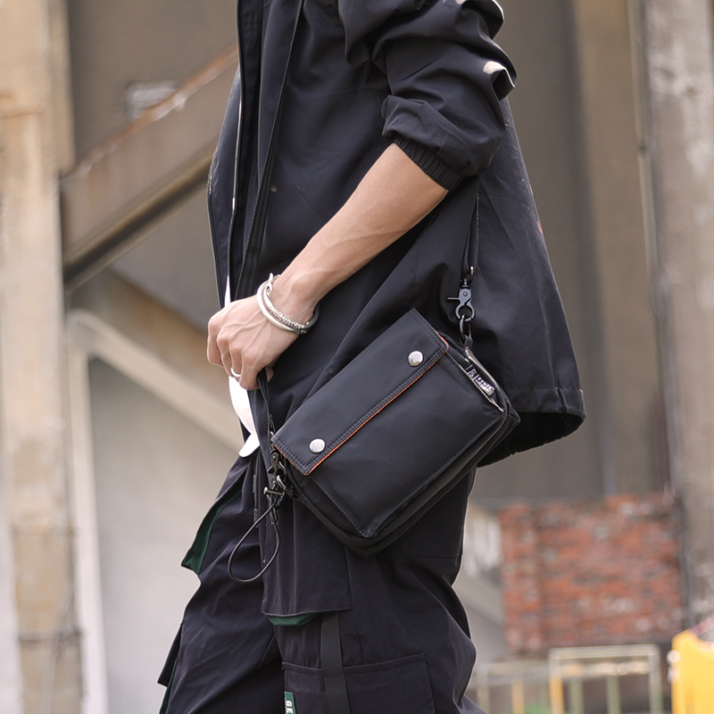 FYUZE New Mini Handbag Nylon Messenger Bags For Men Crossbody Bag Waterproof Casual Wallets Small Shoulder Bag Travel Pouch