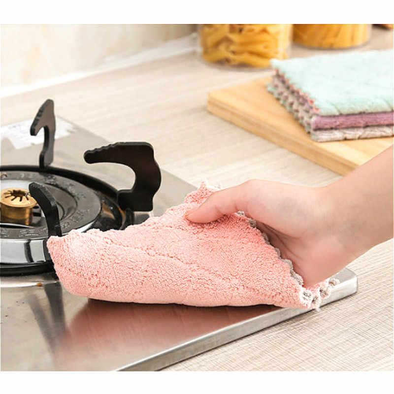 Suef 1/4 Pcs Super Assorbente in Microfibra Panno da Cucina Piatto di Alta Stoviglie per Uso Domestico di Pulizia Asciugamano Kichen Strumenti Gadget @ 1
