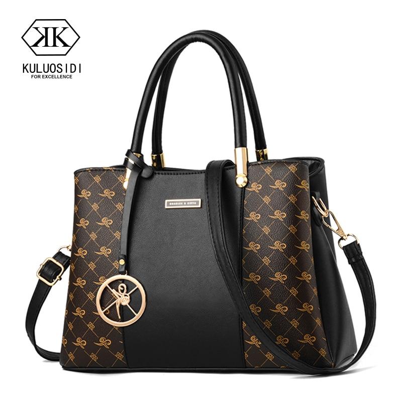 Bolsos de lujo Bolsos De Mujer bolsos de diseñador de cuero de diseñador bolsa de alta calidad para mujeres 2019 bolsos de mano de señoras saco a principal